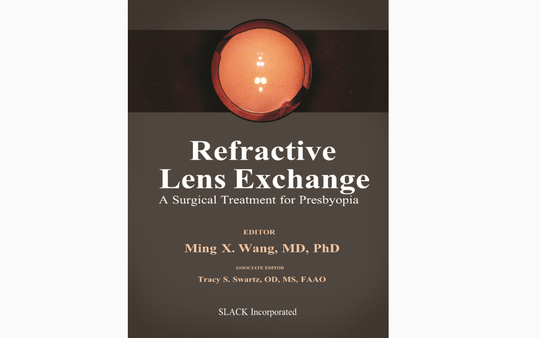 The world's first and only textbook on Forever Young Lens Surgery, courtesy of Dr. Ming Wang, Harvard & MIT (M.D., magna cum laude); PhD (laser physics).