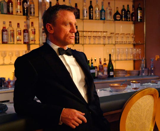 "Metro-Goldwyn-Mayer Pictures/Columbia Daniel Craig in a scene from the motion picture ""Casino Royale."""