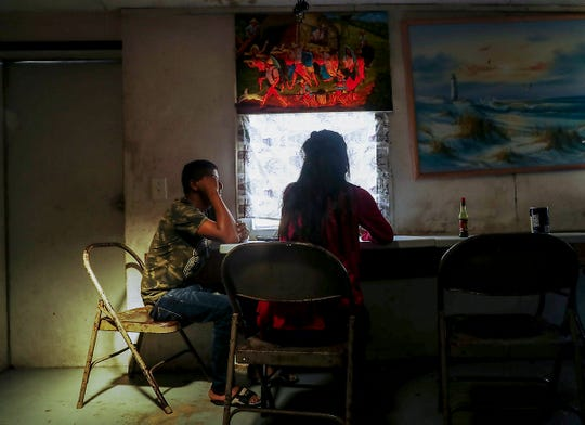 Two teens who live in the Immokalee trailer home where a toddler was raped sit down to talk with a Naples Daily News reporter. The trailer is shared by multiple residents, most from rural Guatemala.