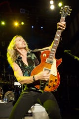 Tommy Shaw of Styx performs at the House of Blues in New Orleans in 2012.