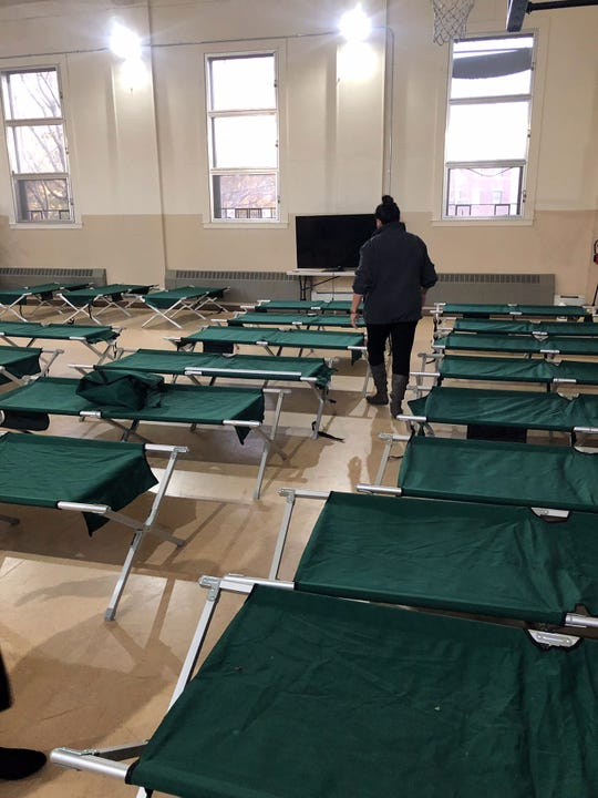 After the city and local Salvation Army officials came to an agreement on Tuesday, the city set up cots at the Salvation Army Passaic Corps location just in time for Tuesday night's Code Blue declaration.
