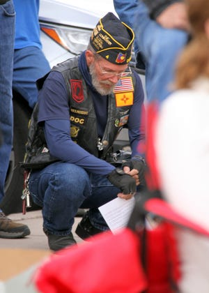 Veterans Day in Deming is a time to reflect for some.