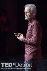 "Rob Paulsen's TEDx Detroit talk focused on his new book, ""Voice Lessons."""