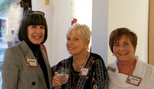 Susan Stein, Joyce Bulifant and Judith Antonio enjoyed a moment together.