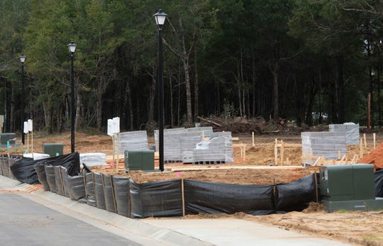 """Construction on the Cambria subdivision in Milton continues Nov. 12. Changes coming to Santa Rosa County's updated land development code include the definition of """"heritage trees,"""" how many and what kind of signs you can have on your property, and building and sea wall maintenance regulations."""