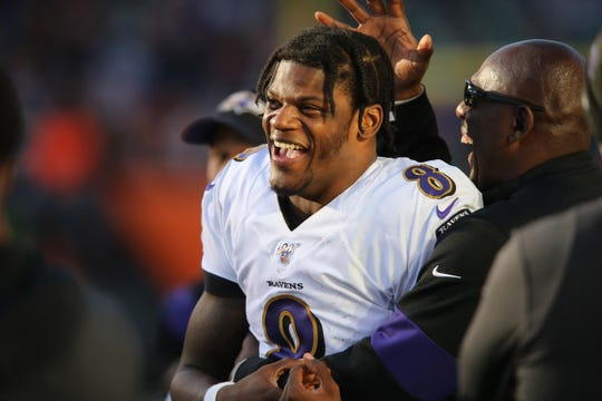 Will Lamar Jackson lead the Baltimore Ravens to a win over the Pittsburgh Steelers in Week 8 of the 2020 NFL season?