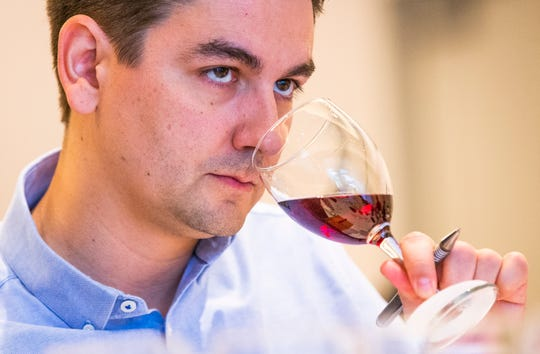 Judging for The Arizona Republic wine contest takes place, Monday, Oct. 21, 2019, at the Mountain Shadows Resort in Scottsdale.