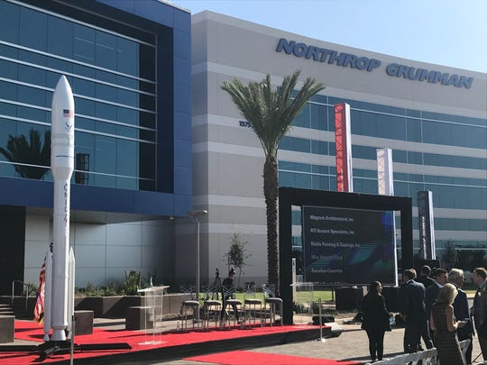 Northrop Grumman's new Chandler campus is home to 2,500 employees focused on missile systems.