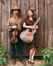 """Jay Ungar and Molly Mason will perform as part of the Hudson Valley Philharmonic's """"Tales of Appalachia & Hemingway,"""" Nov. 16, at the Bardavon in Poughkeepsie."""