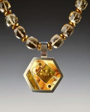 Jewelry by Helen Hosking is one of the vendors at Unison Arts Center's Craft, Art and Design Fair, Dec. 7-8.