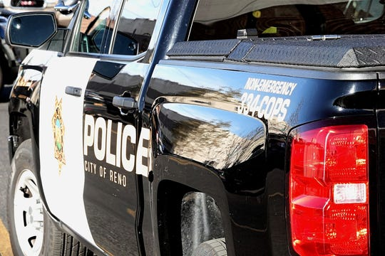 A photo of a patrol vehicle belonging to the Reno Police Department.