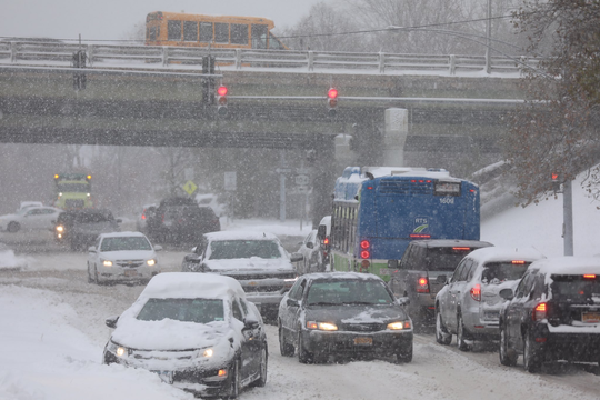 A messy commute for drivers on Tuesday, Nov. 12, 2019.