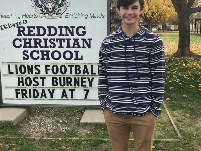 Redding Christian sophomore running back Carson Piper is one of this week's Athlete of the Week nominees after he scored three touchdowns and rushed for 258 yards against Greenville.