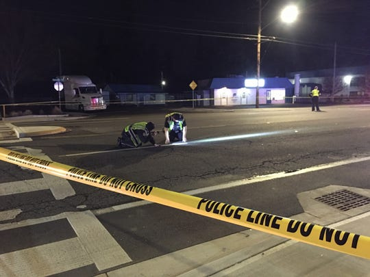 The crash was reported around 6:20 p.m. after a woman was struck by a car while crossing Portland Road near Wayside Terrance, according to Salem Police officials.