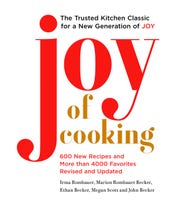 "A new edition of ""Joy of Cooking."" For the book's first revision since 2006, 600 new recipes were added on top of 4,000 newly tried-and-tested from the past."