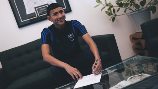 The Homegrown Player Contract Ochoa signed with the Earthquakes means that his salary doesn't count against the club's budget so long as he fills a supplemental roster spot.