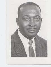 Allie Thomas is shown in this 1965 photo while serving as the principal of Blackshear Elementary School.