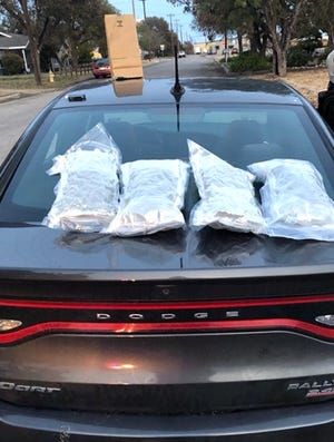Bags of hydroponic marijuana were found in a vehicle in San Angelo Friday, Nov. 8, which led Tom Green County Sheriff's Office to arrest two people.