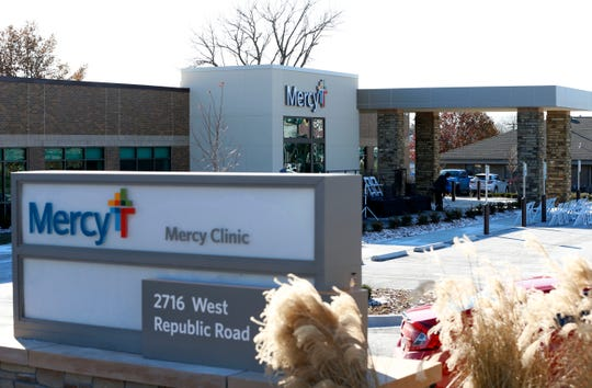 Mercy unveiled a new Springfield family clinic Nov. 12, 2019. On Nov. 20, 2019, it announced it would offer employees 175 online degree programs through Purdue University Global.