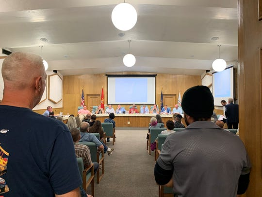 The Washington County Planning Commission held a public hearing for a zone change for land near Kolob Canyons.