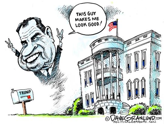 Trump and Nixon