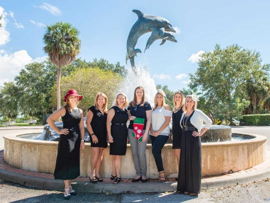 2019-20 Martin County Guild members, from left, Amy Freese, Andi Brennan, Ellen Houts, Ashley Braden-Knowles, Dana Anderwald, Julia Garcia and Michelle Schwartz.