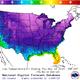 Nighttime temperature forecasts, Wednesday, Nov. 13, 2019.