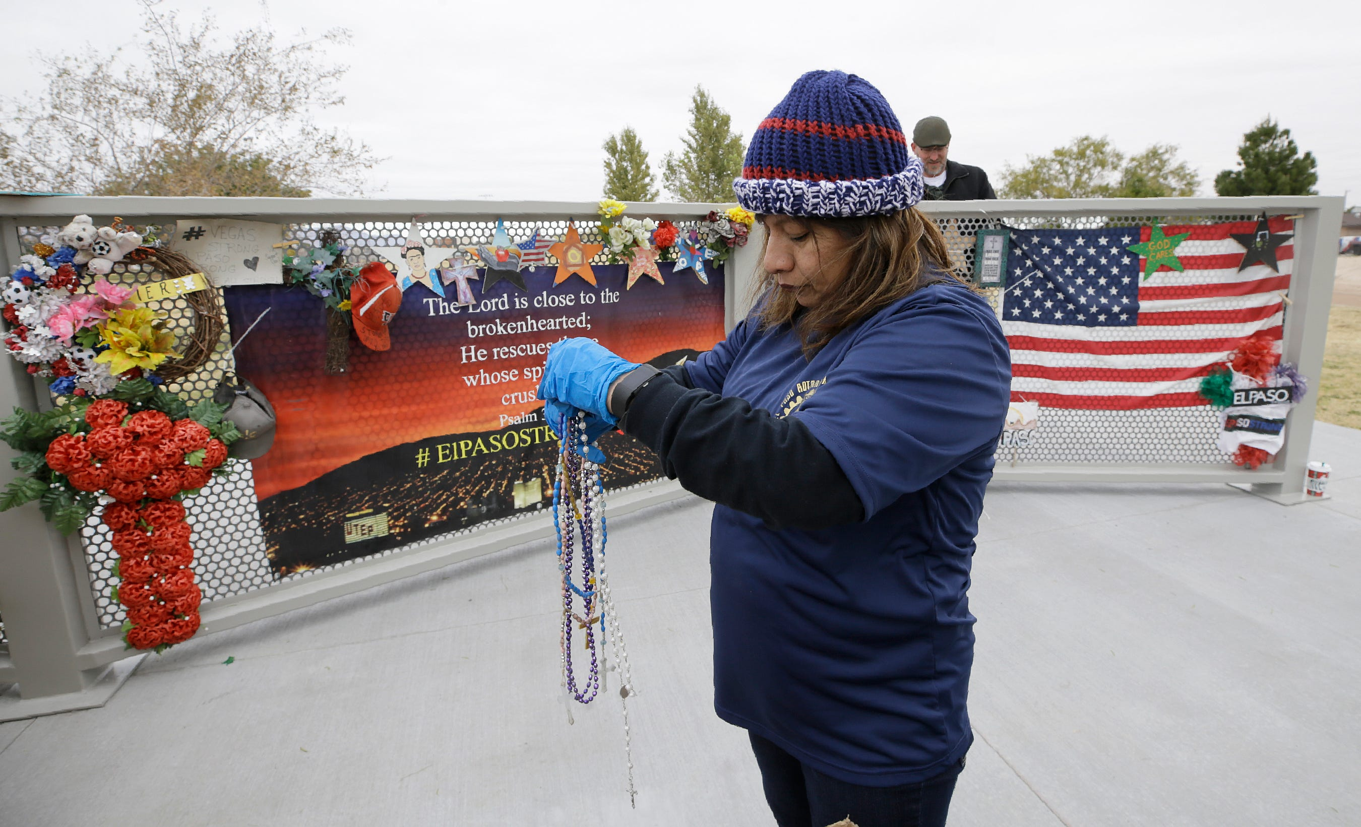 El Paso shooting memorial moved to Ponder Park
