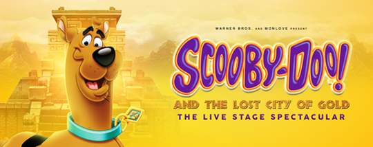 A live stage production of Scooby Doo is coming to El Paso.