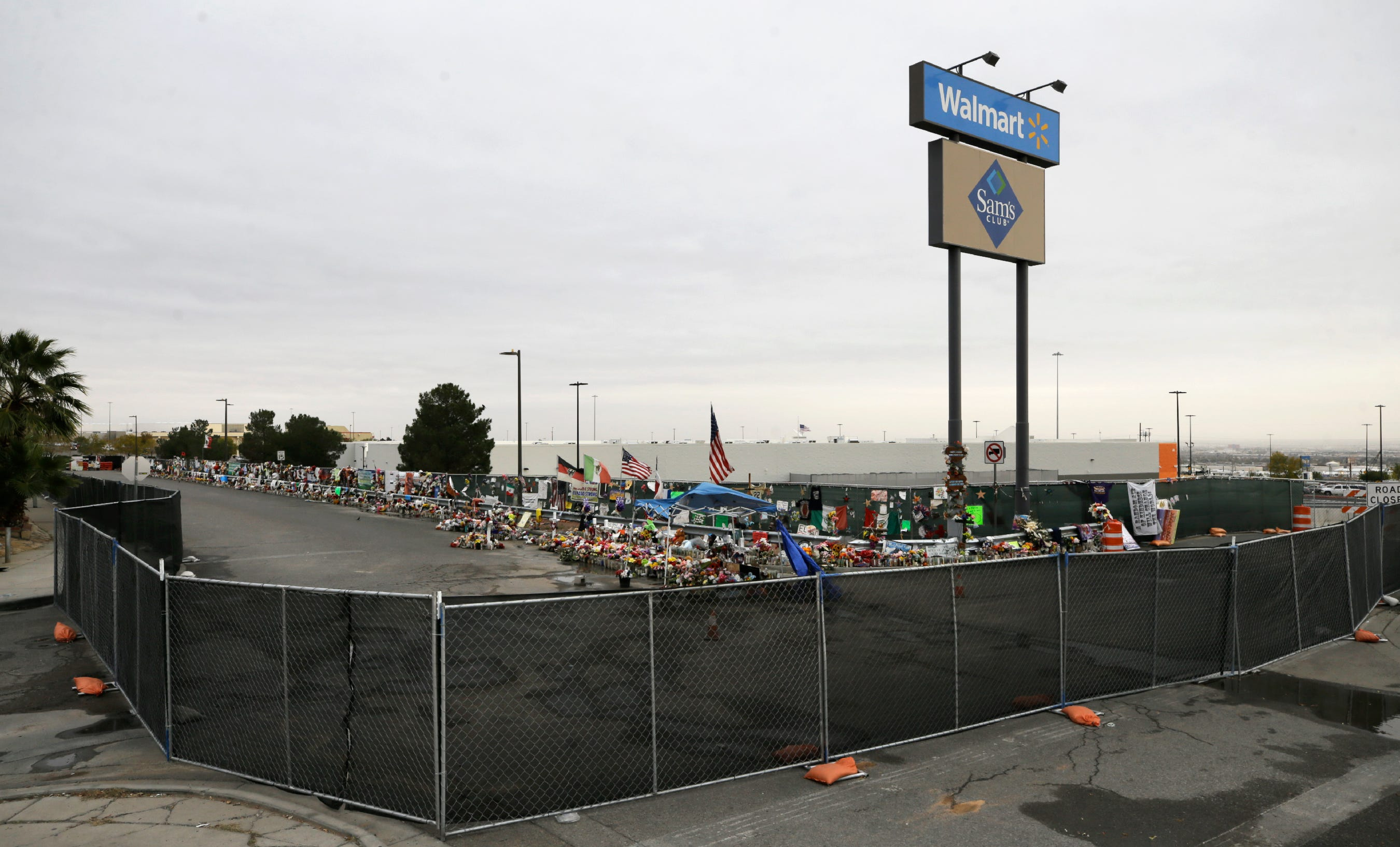 Shooting memorial removed, Walmart set to reopen Thursday