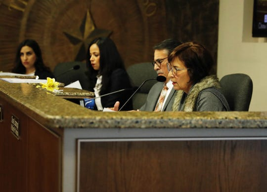 District 8 city representative Cissy Lizarraga (right) and Henry Rivera (left) voted against efforts to begin 'cite and release' policies in El Paso.