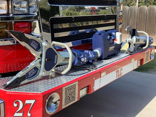 Tulare County Fire Department was awarded a $175,000 grant from the California Office of Traffic Safety to purchase two Jaws of Life.