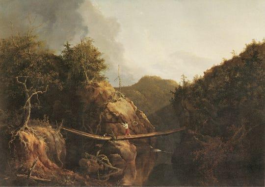 Thomas Cole: Crossing the Stream, 1827