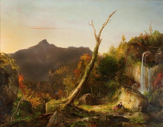 Thomas Cole: Autumn Landscape (View of Mount Chocorua), 1827-28