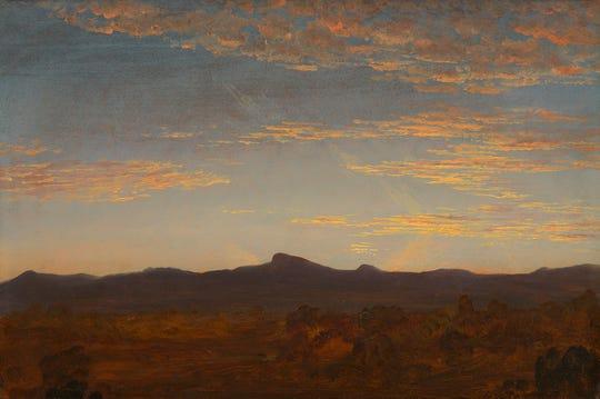 "Thomas Cole: Study for ""Catskill Creek"", c. 1844/1845. Avalon Fund"