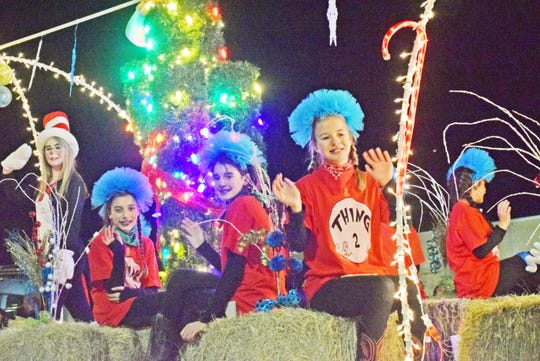 In this file photo, participants in Bowie's Fantasy of Lights Festival parade help kick off the holiday season. This year's festival place on Dec. 7 with activities all day. The parade rolls through town at 7 p.m.