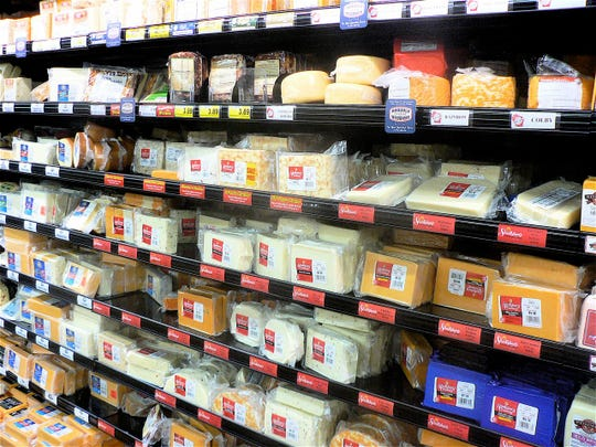 DATCP oversees the contents, weights and quality of cheese.