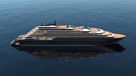 The Ritz-Carlton Yacht Collection had intended to debut its first ship, Evrima, in June. It will now begin sailing in April 2021.