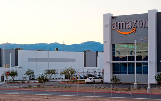 Amazon distribution center in Las Vegas.