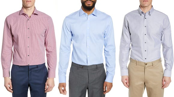 Snag a dress shirt or two with this sale.