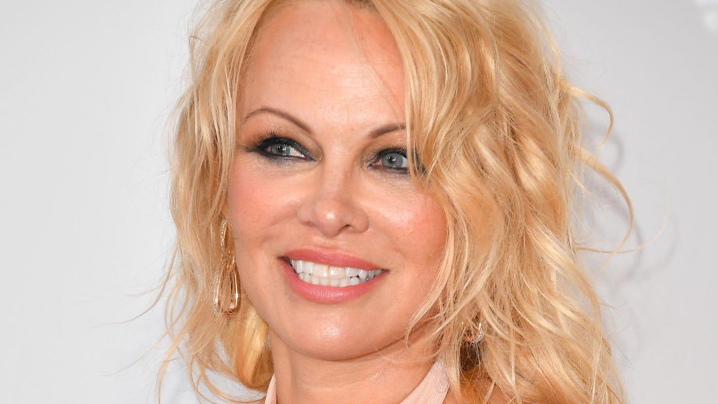 Pamela Anderson shares throwback Trump photos days after pleading for Julian Assange pardon