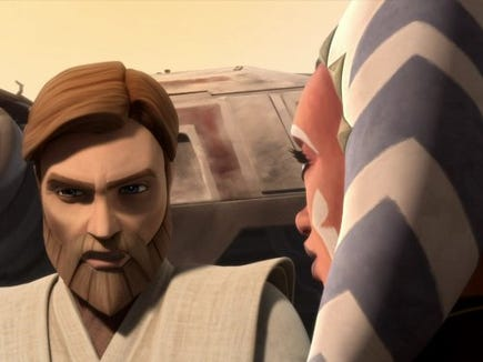 The Clone Wars series is now available to stream on Disney+