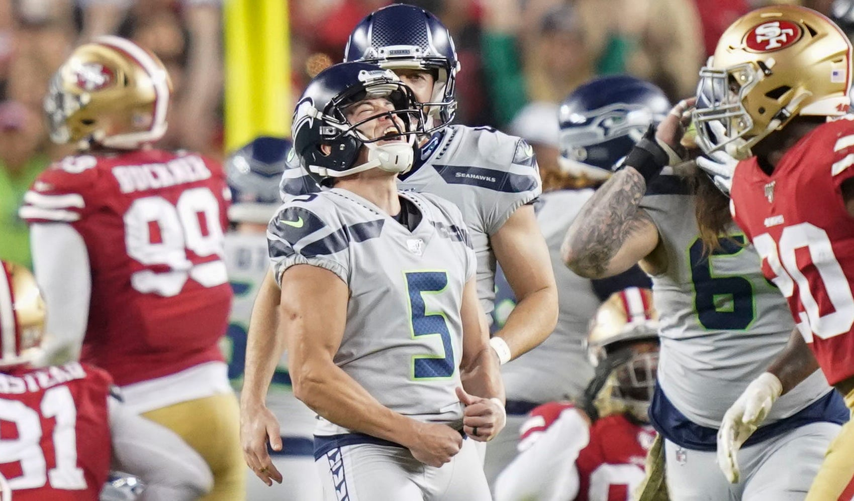 49ers Suffer First Loss In Overtime Thriller Against Seahawks