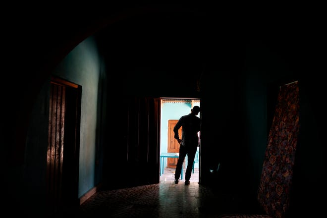 A Honduran father stands at his home in Comayagua, Honduras, after talking in an interview about being separated from his 3-year-old daughter at the border after traveling for weeks to seek asylum in the U.S. According to court records, his daughter was sexually abused in U.S. foster care. She was later deported and arrived back in Honduras withdrawn, anxious and angry. He fears their bond is forever broken.  Aug. 23, 2019