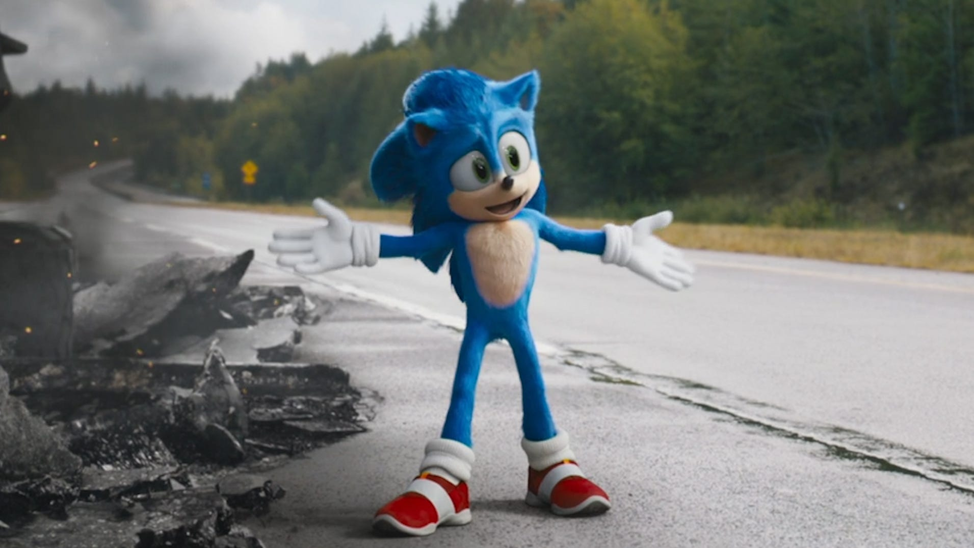 Image result for sonic movie images
