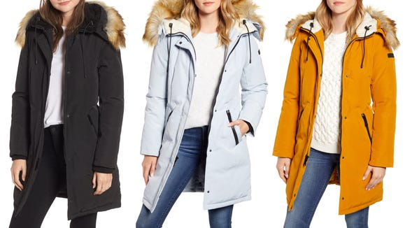 This parka is so chic and comes in so many colors.