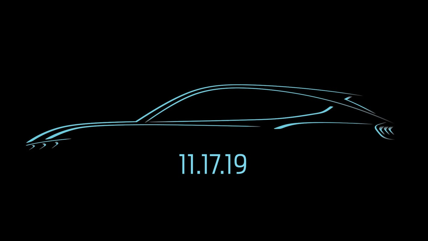Watch live: Ford unveils Mustang-inspired electric SUV at LA Auto Show