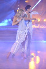 Lauren Alaina and Gleb Savchenko dance their second number.