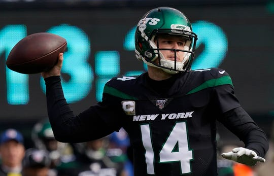 29. Jets (31): Through 19 career starts, Sam Darnold has 24 TD passes and 24 INTs. Lots of work to do if he's to get well clear of the dreaded Sanchez Line.