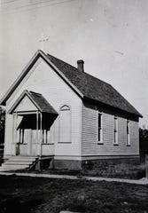 The first Zion Lutheran Church in Abilene.
